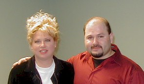 Steve with Victoria Jackson