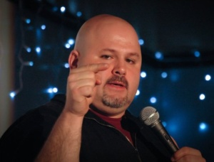 Steve On Stage